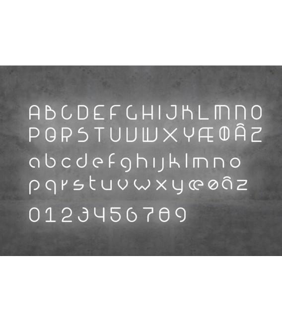 Alphabet Of Light - a lettera minuscola